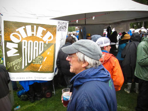Mother Road tent at Telluride Blues and Brews Festival