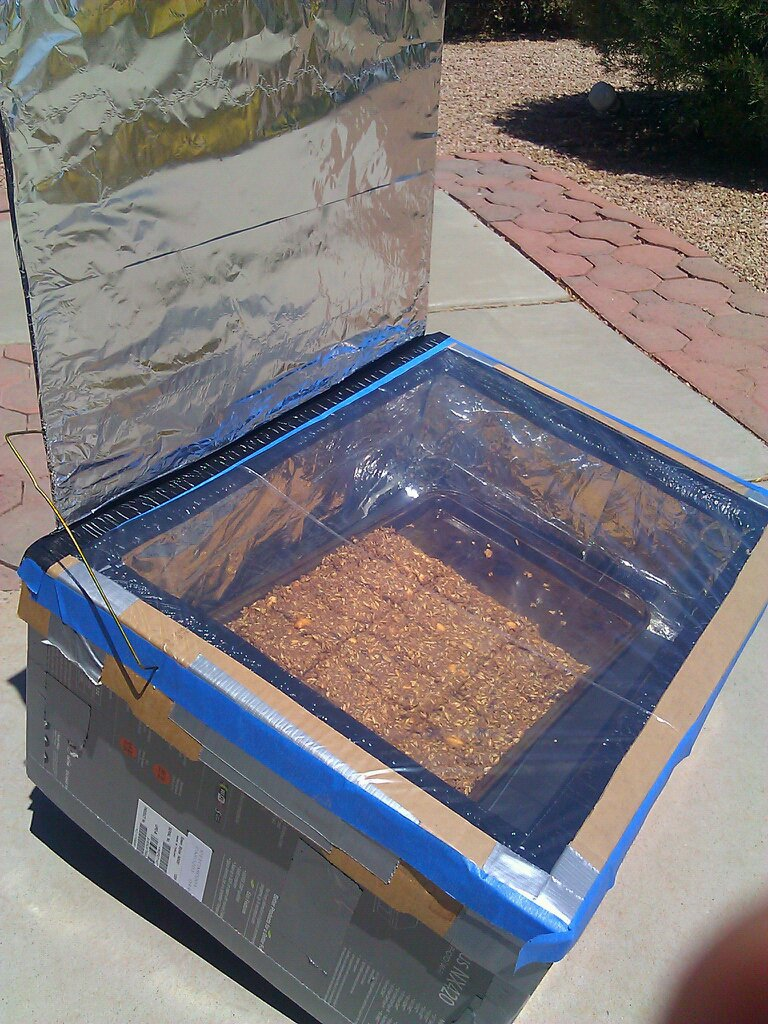 Granola Bars Solar Oven