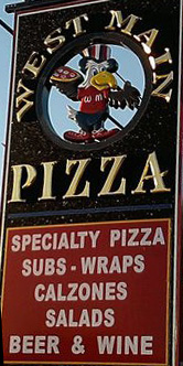 West Main Pizza Sign Cropped