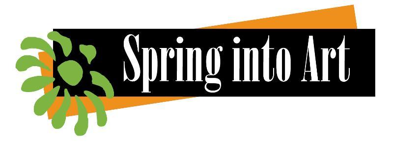 Spring i\Into Art Logo