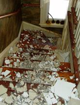 DamagedStairwell
