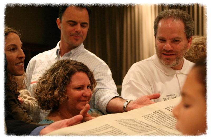 Gore Family at Torah