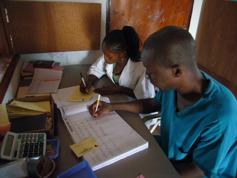 Job training Guinea nurse