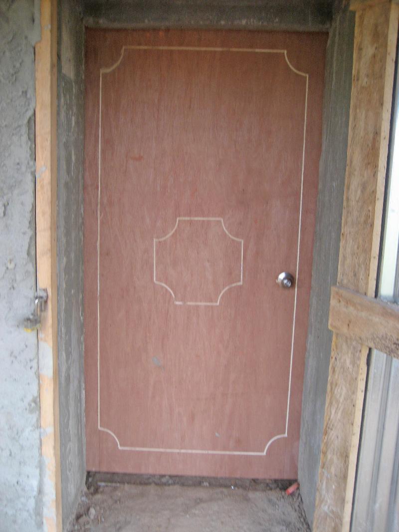 X-ray room door