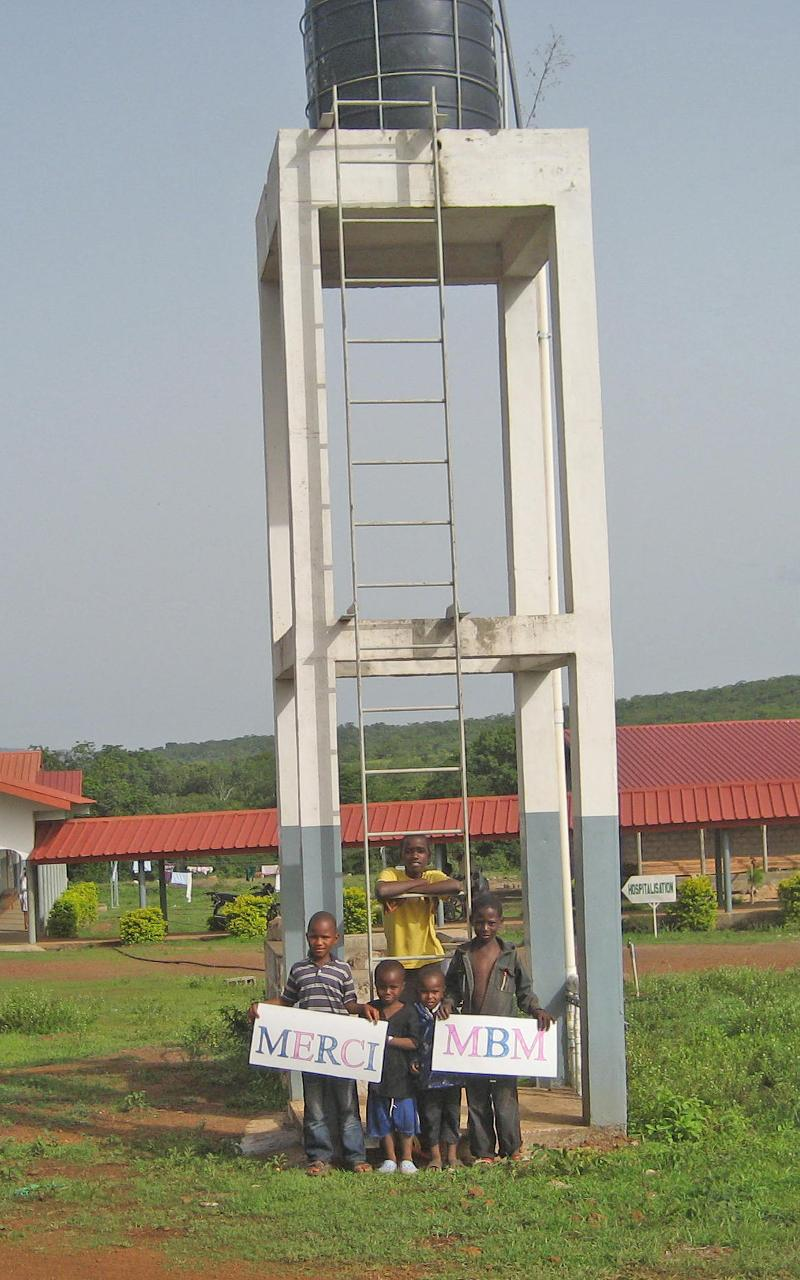 New ladder for water tower