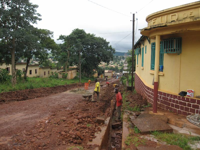 Road Work in Guinea