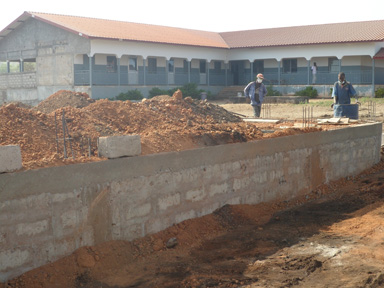 Footings for ER and X-ray Building