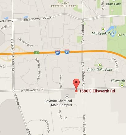 1580 E. Ellsworth map