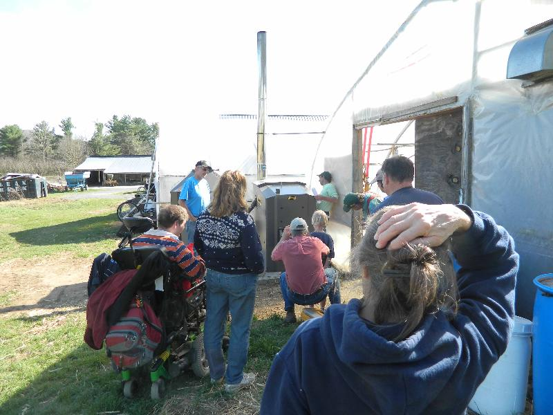 Maxim Boiler at Riverberry Farm