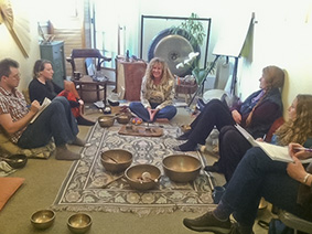 Katie, Group & Gong