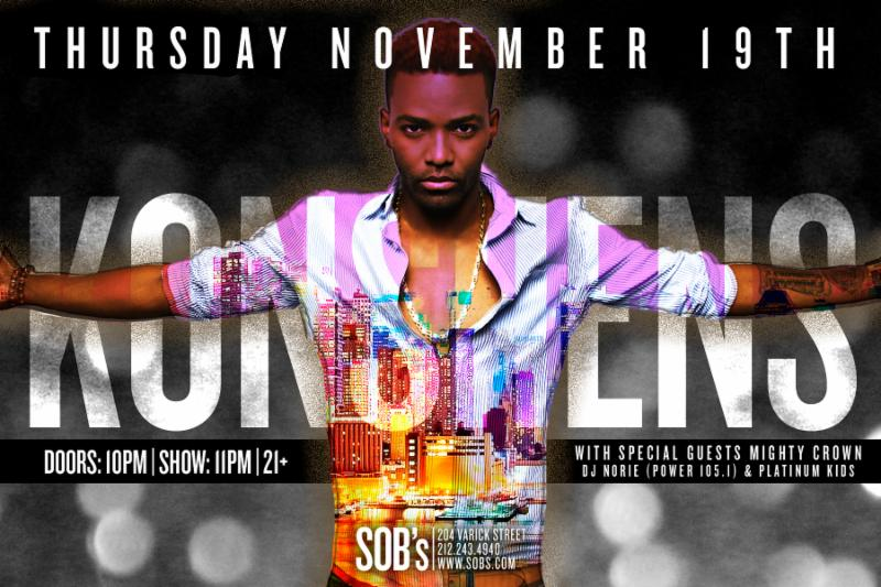 Dancehall Star Konshens Set To Ignite New York City 8