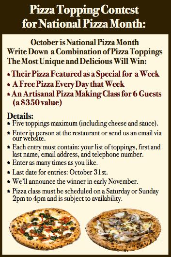 Pizza Contest Graphic