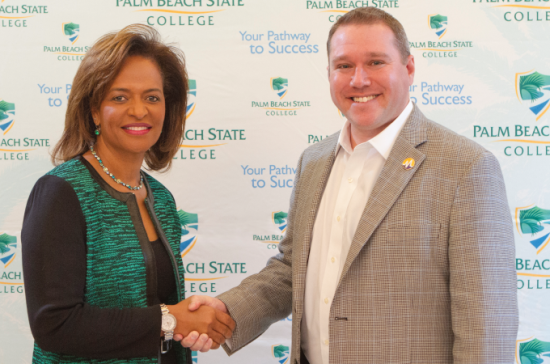 PBSC President Ava L. Parker_ J.D._ and Dan Cane_ CEO and co-founder of Modernizing Medicine