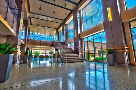 IPFW Rhinehart Music Center Lobby