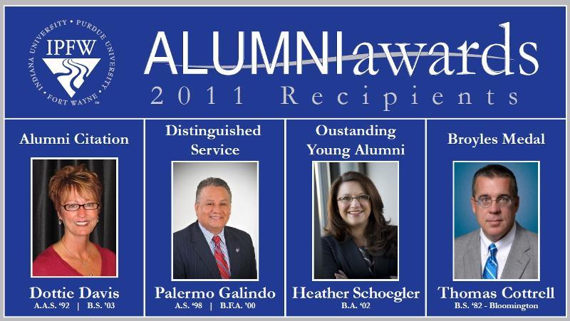 2011 Alumni Award Recipients