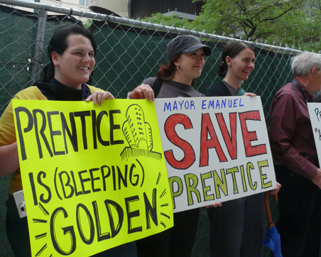Save Prentice Rally