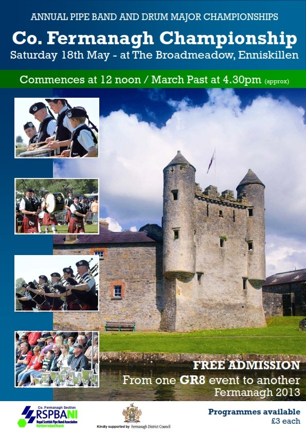 Fermanagh Pipe Band Contest