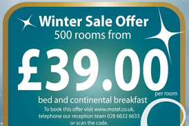 BELMORE COURT & MOTEL WINTER SALE LOGO - ROOMS FROM �39/NIGHT
