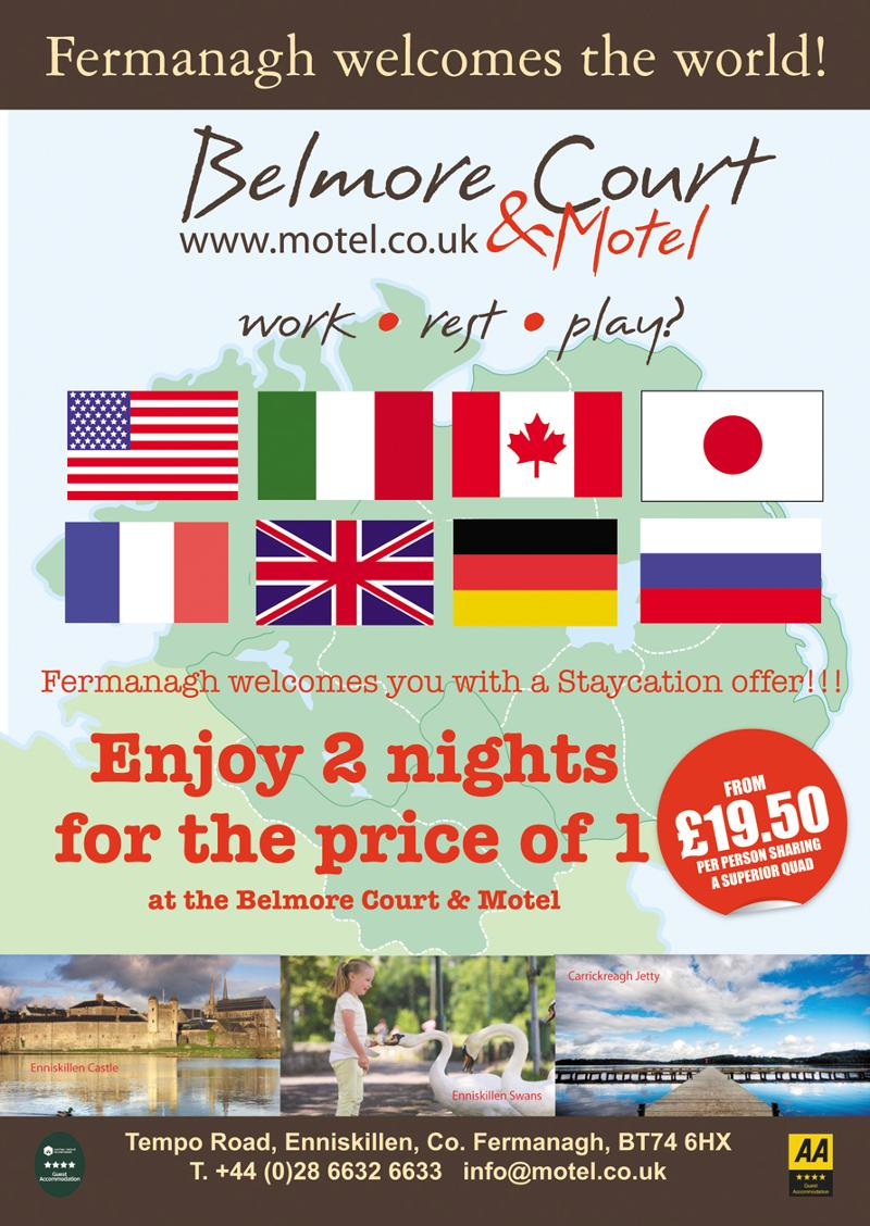 Staycation Offer - 2 nights for the price of 1