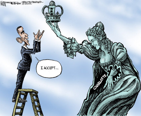 Obama Coronation