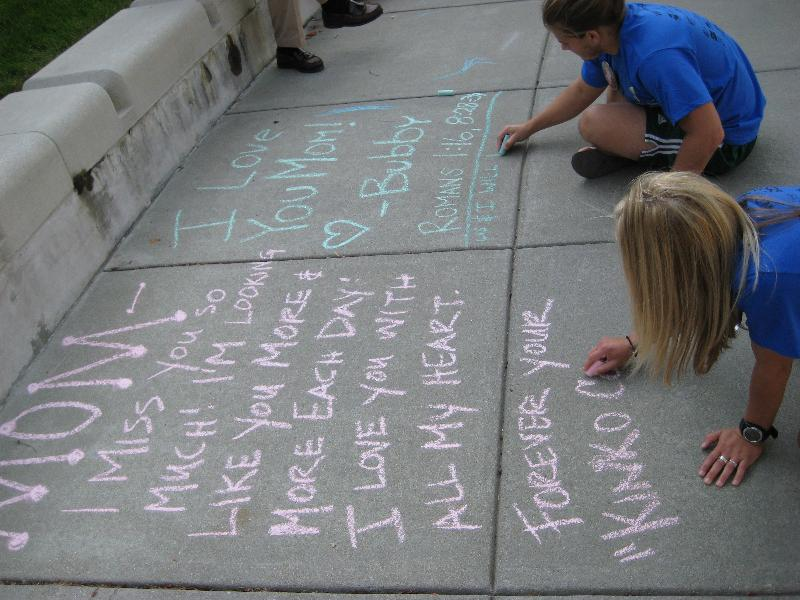 Chalk writings 2009