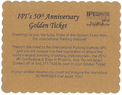 IPI Golden Ticket