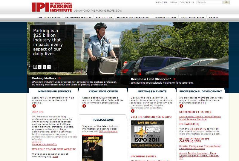 IPI's New Website