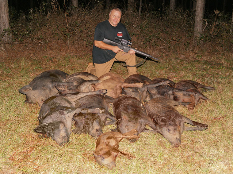 JAGER PRO-Thermal Hog Control-11 pigs in one night