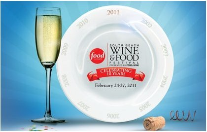 food and wine south beach