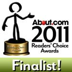 About.com Readers Choice Award Finalist