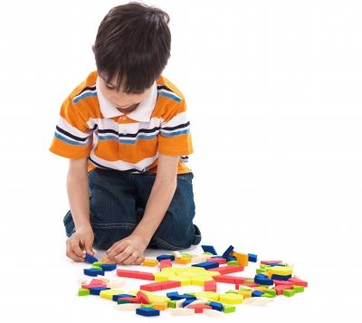 Boy Playing with blocks - photostock - freedigitalphotos.net