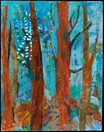 deep woods -marilyn banner