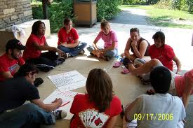 Circle of Students Listening