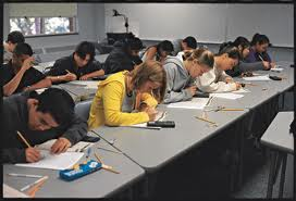 HS students testing