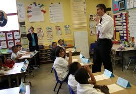 Arne Duncan in school