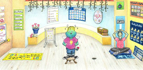Shubert's Classroom by Dr. Becky Bailey: Conscious Discipline