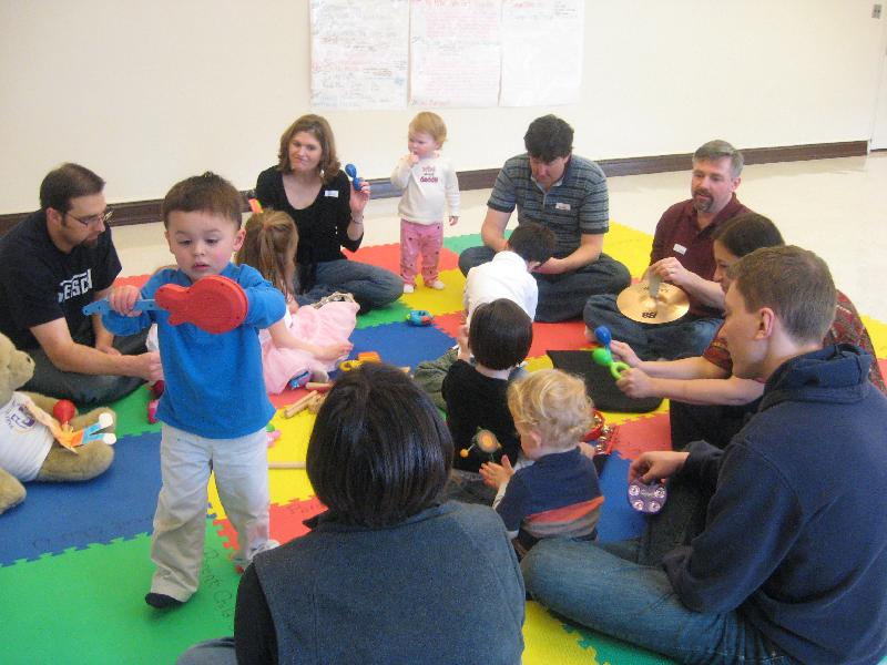Kindermusik Family Time class 0-7 years & Flat Stanley