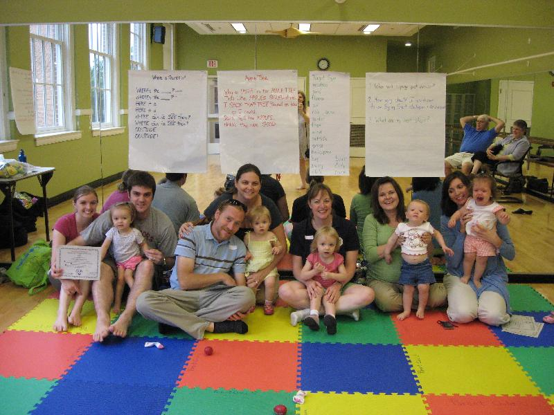 Miss Laura's Signing Smart Class at Parent Child U 2009
