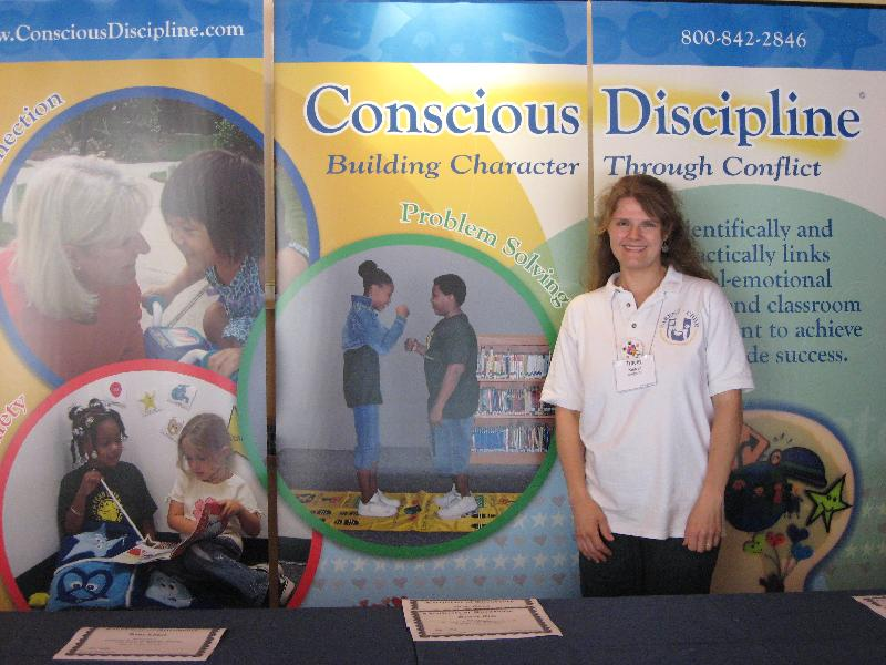 Miss Tracey trains at Dr. Becky Bailey's Conscious Discipline Institute.