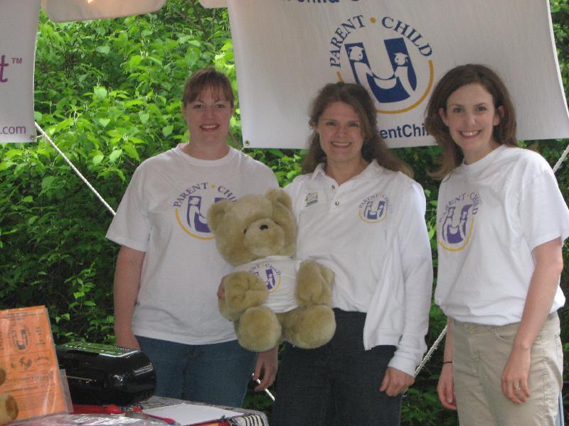 Miss Laura, Miss Tracey, Miss Ryann - the PCU Team