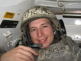 Bart Fletcher - GO BIG or GO HOME! Murdered by a fellow soldier.