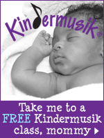 Come to a Kindermusik preview class on us!