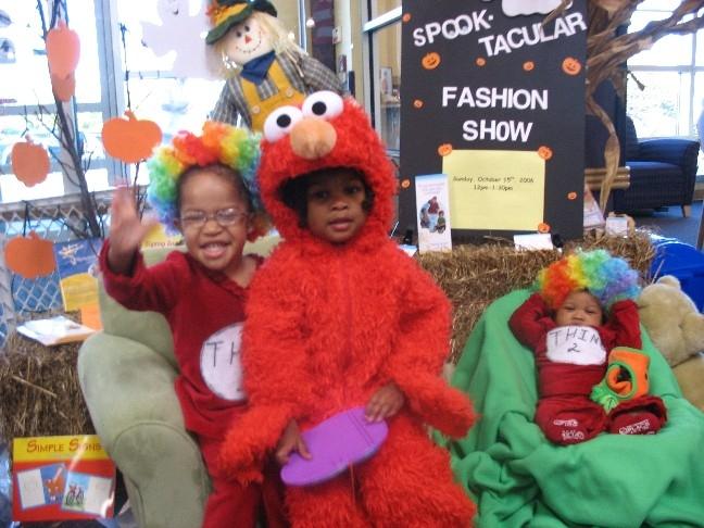 Hallween Fashion Show by Parent Child U