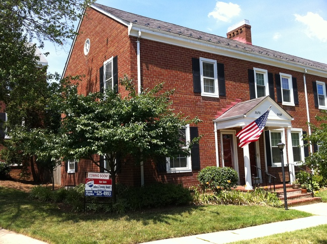 S. Woodrow St. Fairlington townhouse for sale, finder's fee $100