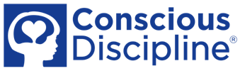 Conscios Discipline logo with Miss Tracey at Parent Child U