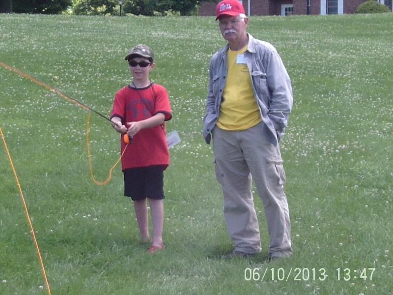 Myles hartley casting - Trout Camp 2013