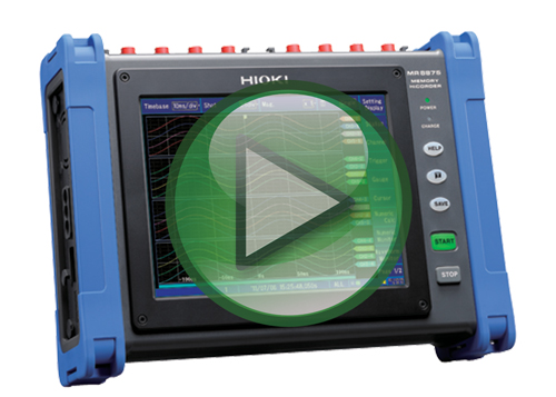 Hioki MR8875 Memory HiCorder Video