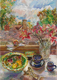 Audrey   Ushenko's painting