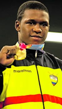 ECUADORIAN OLYMPIAN YTALO PEREA READY TO TAKE THE U.S. BY STORM