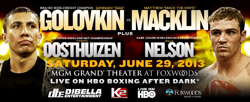 GENNADY GOLOVKIN-MATTHEW MACKLIN FINAL PRESS CONFERENCE PHOTOS AND QUOTES